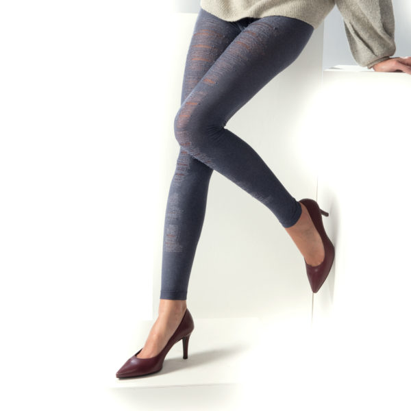 Legging Messina blu