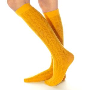 Calzino Sondrio giallo