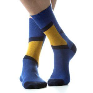 Calzino corto Monterosso blu